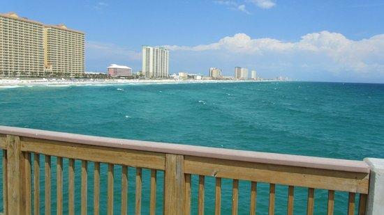 Long Beach Resort : View from Pier