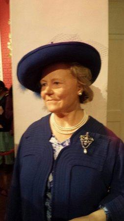 Madame Tussauds London: Queen mum