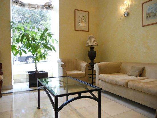 Avenida Park Hotel: Sitting area
