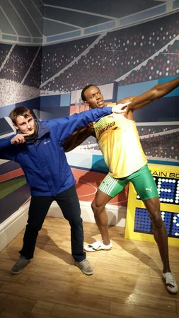 Madame Tussauds London: Bolt!!