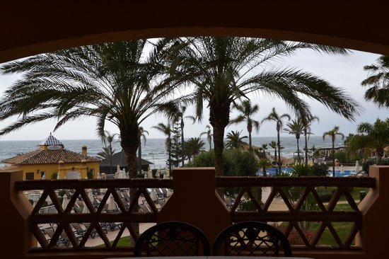 Marriott's Marbella Beach Resort: view from terrace