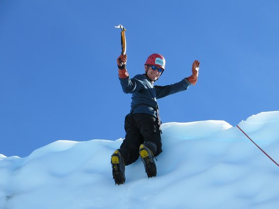 Mica Guides : Making it to the top of the ice