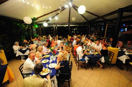 Vista Ballena Hotel: Reception dinner