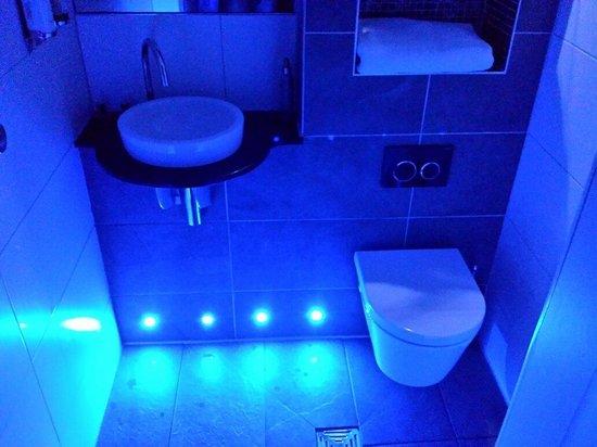 Drakes Hotel Brighton: Wet room bijoux room city view