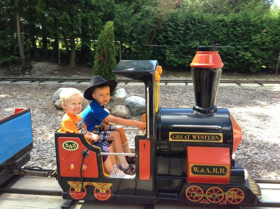 Owen Sound, Καναδάς: Our boys enjoying the train!