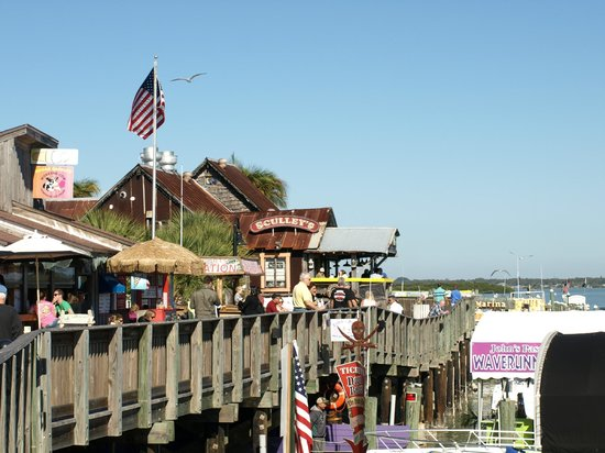 Sculley's Boardwalk Grille: Sculley's and John's Pass boardwalk