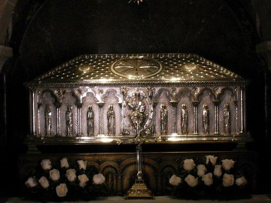 Kathedrale von Santiago de Compostela: reliquary