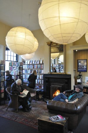 Barter Books: Reading lounge - coffee and biscuits available!