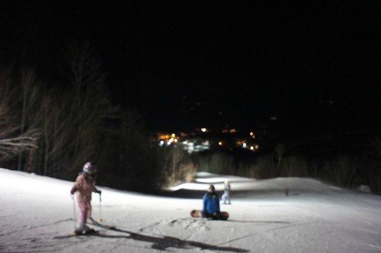 Sunday River Ski Resort: night skiing