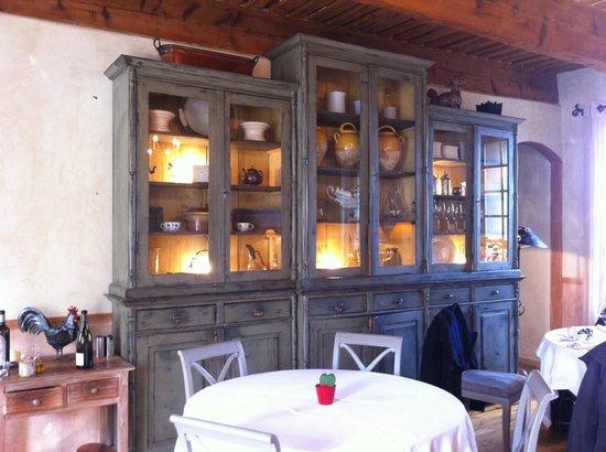 Domaine de Bournissac : Décoration du restaurant