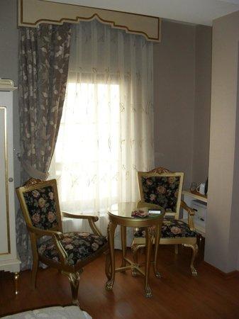 Saba Sultan Hotel : Zimmer