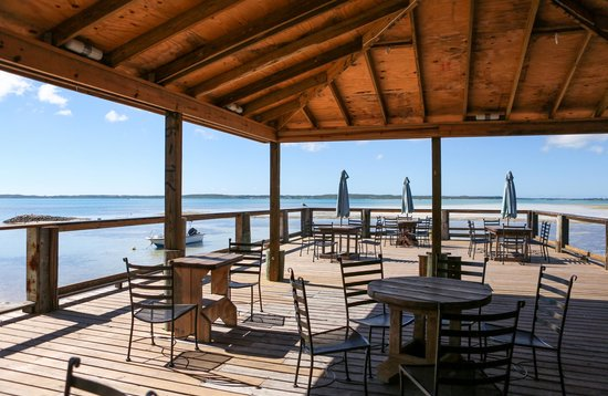 Queen Conch : The patio where you eat. Does it get any better?