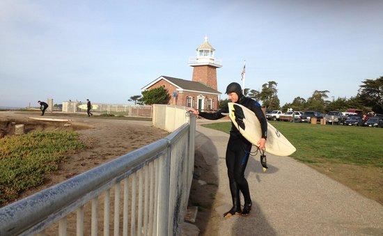 Surf museum -10 min walking from Seaway Inn.
