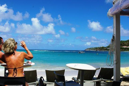 Tom Beach Hotel : vue depuis la salle à manger