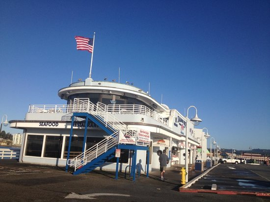 Seaway Inn: Santa Cruz pier.