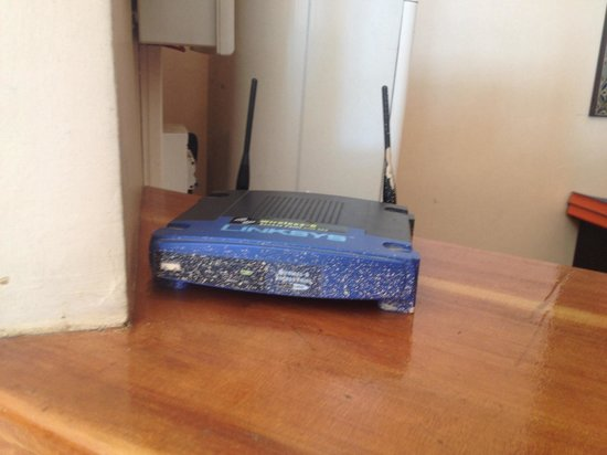 Marrakech Ryads Parc & Spa : One tired router for the whole hotel