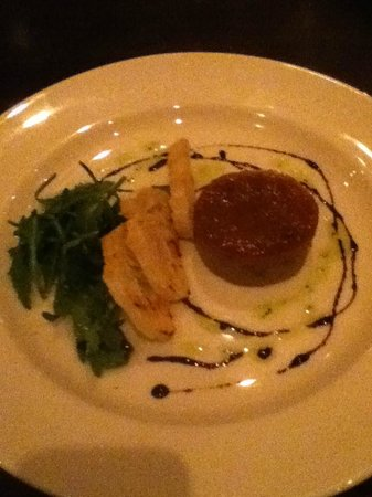 Jurys Inn Glasgow: Game pâté with Cumberland sauce and toasted bread
