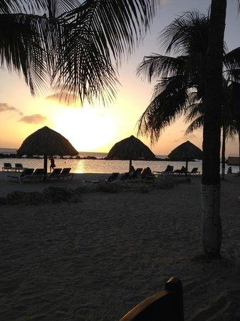 Sunscape Curaçao Resort Spa & Casino: sunset