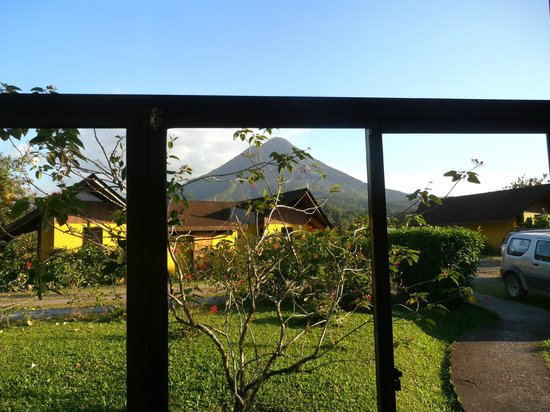 Hotel Campo Verde: View from room 6