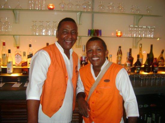 20 Degres Sud Hotel : The best team !!!!   Denis & Edil