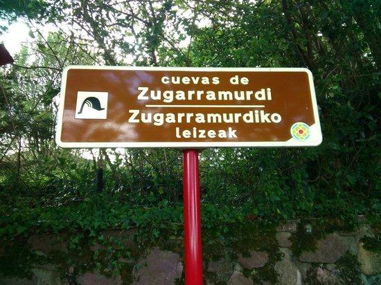 Cueva Zugarramurdi - Museo de Las Brujas: Carte de entrada a las Cuevas