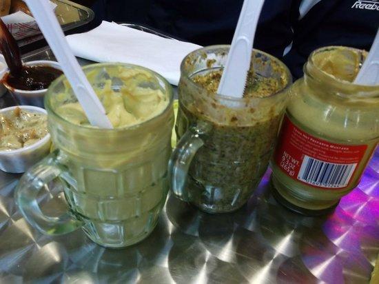 Poynor's Pommes Frites: German Mustards