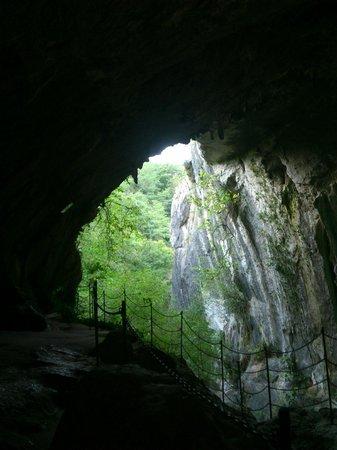 """Cueva de las Brujas - Zugarramurdi: Cueva dónde se rodó """"Las brujas de Zugarramurdi""""."""