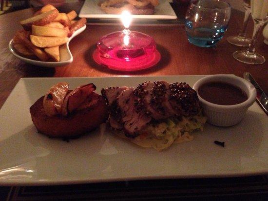 The Islay Hotel: Spiced Pork!! Stunning!!