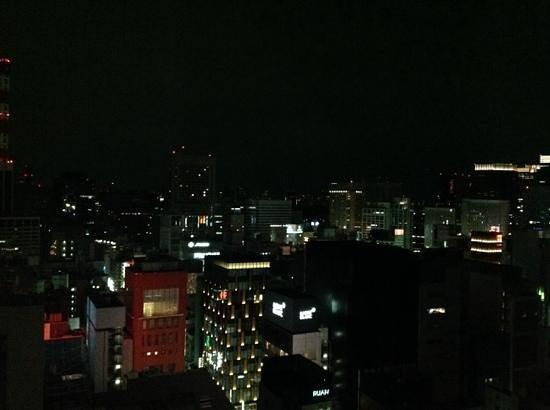 Mitsui Garden Hotel Ginza Premier: vista nocturna desde el piso 18