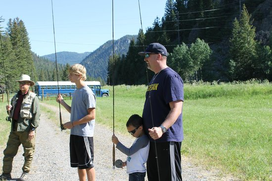 Montana Whitewater Raft Company: Learning to cast