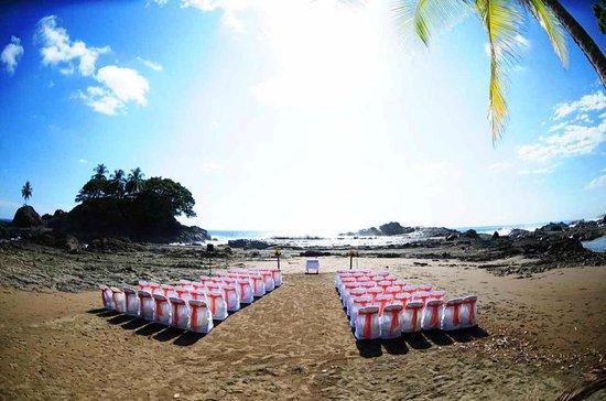 Villas Rio Mar : Wedding ceremony set-up (thanks to Rio Mar)