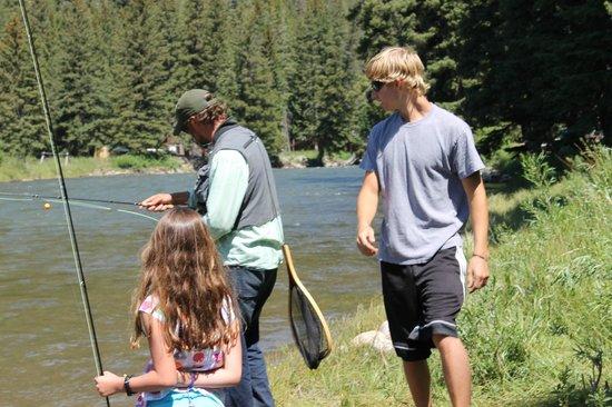 Montana Whitewater Raft Company : More instruction