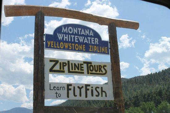 Montana Whitewater Raft Company: Montana Whitewater Main Entrance