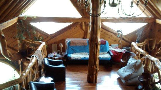 Hosteria Sudbruck : living segundo piso