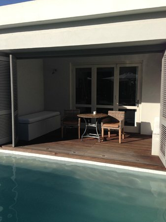 The Robertson Small Hotel : Zimmer am Pool