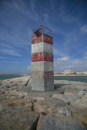 Hotel Atismar: Lighthouse in Quarteira