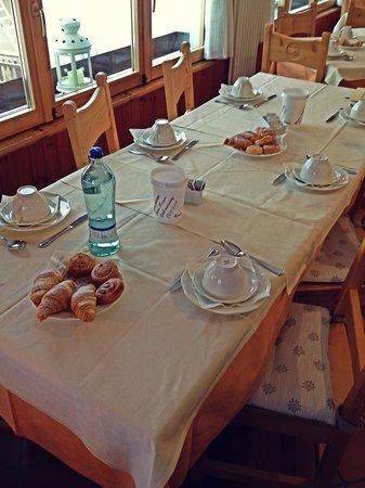 Albergo Stella Alpina: Colazione