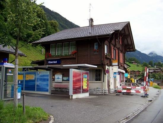 Train station in Oberried