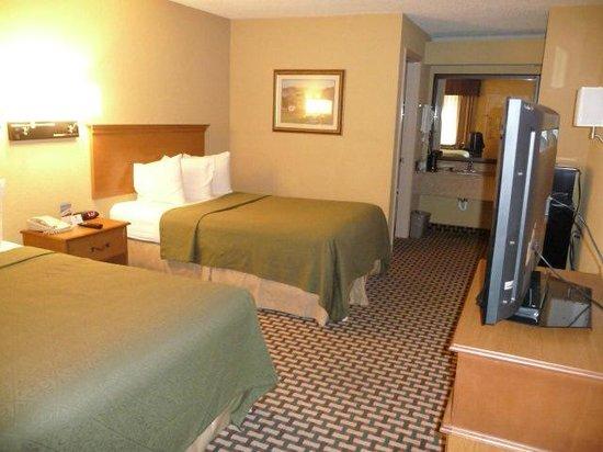 Best Western Bradford Inn : double bed room