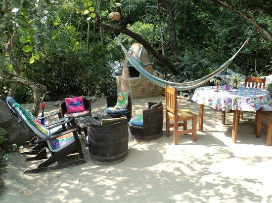 """EcoLodge """"La Bonita"""": Ruhiger Essens- und Aufenthaltsbereich"""