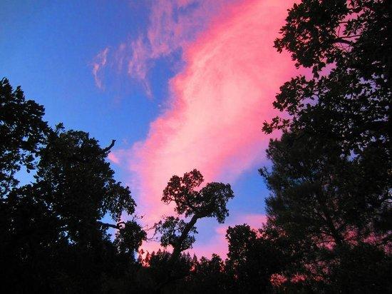 Casa Monchique: Zonsondergang