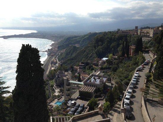 Hotel Villa Paradiso: vista dalla stanza