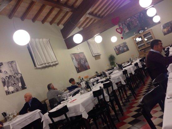 Trattoria pizzeria al Senato: La sala ristorante ...