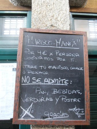 Mercado de Abastos de Santiago: we'll cook your fish