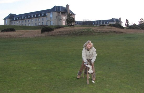Fairmont St Andrews: The Fairmont Hotel in the background