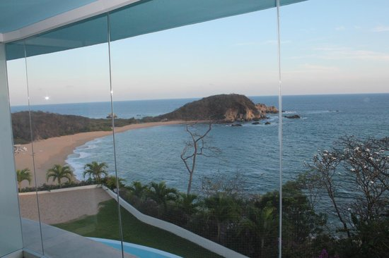 Secrets Huatulco Resort & Spa: view from couples massage room