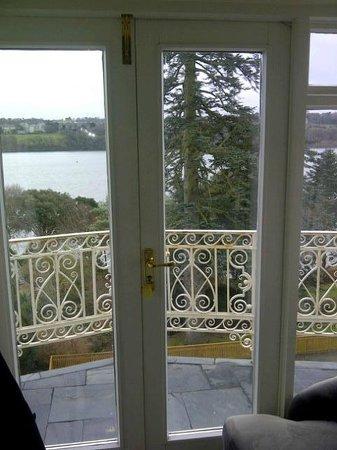 Chateau Rhianfa: View from Balcony