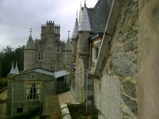 Chateau Rhianfa: View