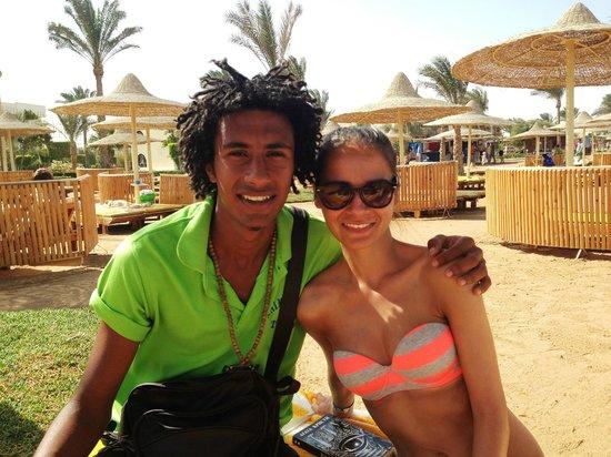 The Desert Rose Resort: Fabio