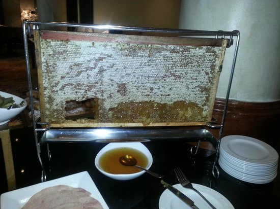 Southern Sun The Cullinan: Honeycomb at breakfast